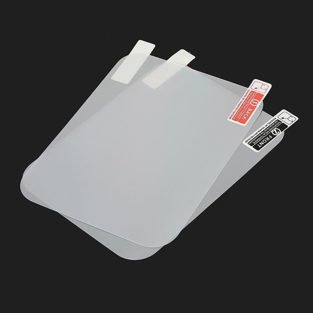 Taille: 12 * 9cm Couleur: transparent 2 Pcs Affichage t/ête-haute Films exclusifs Film r/éfl/échissant Outils de navigation GPS
