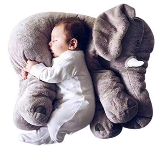 Suines New Kids Children Baby Girls Cotton Blend Plush Cute Elephant Doll Toys Plush -