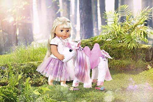 Zapf Creation 828854 BABY born Animal Friends Einhorn Puppenzubehör 43 cm, bunt