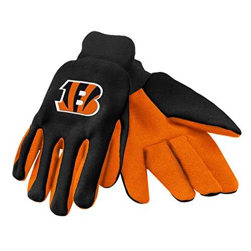 Forever Collectibles 74218 NFL Cincinnati Bengals Colored Palm Glove