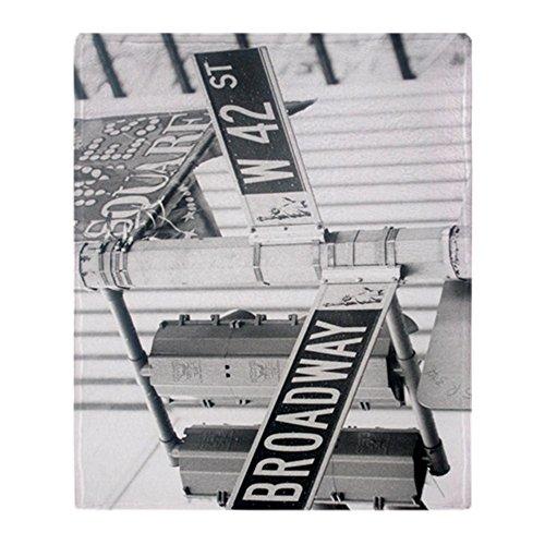 CafePress - New York - Broadway Times Square - Soft Fleece Throw Blanket, 50