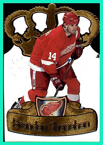 1997-98 Pacific Gold Crown Die-Cuts #10 Brendan Shanahan DETROIT RED WINGS ()
