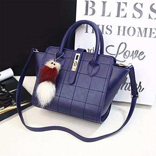Blue bandoulière main bandoulière la en occasionnels sac cadeaux MSZYZ sac mode des à sac de vacances chers Maison à 1wwOIvqaU