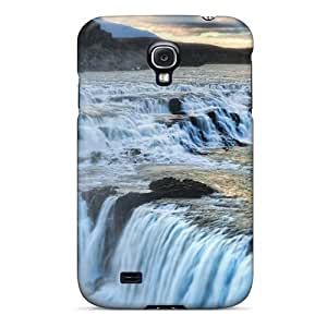 Durable Amazing Waterfall In A Canyon In Icel Back Case/cover For Galaxy S4