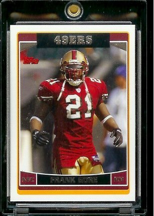 - 2006 Topps # 187 Frank Gore - San Francisco 49ers - NFL Football Cards