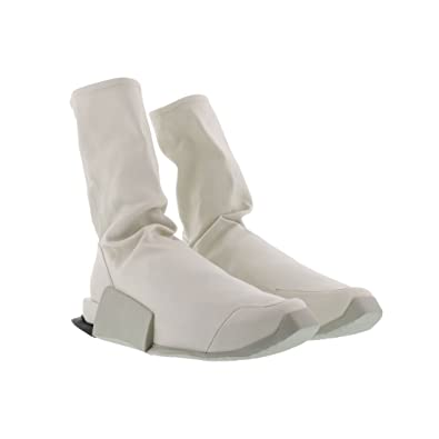 Adidas x rick owens uomini alti livello runner (bianco / ro