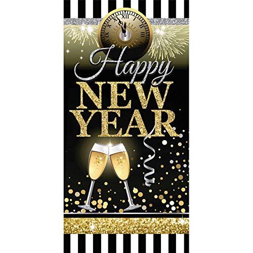 Forum Novelties New Year'S Door Cover, Multi-Color, -