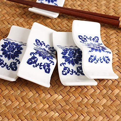 cucchiai Set di 10 bacchette decorative in ceramica per bacchette forchette e utensili da cucina Bingpong
