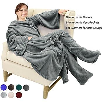 the slanket onesie the original blanket with sleeves super soft faux fur adult. Black Bedroom Furniture Sets. Home Design Ideas