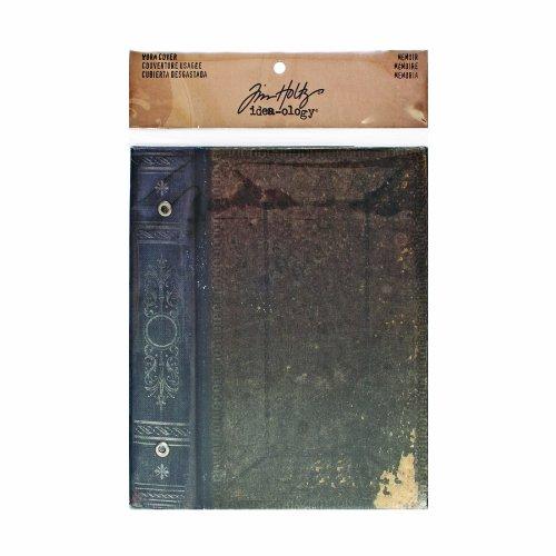 Memoir Worn Cover by Tim Holtz Idea-ology, 7 x 4.5 Inches, Gray, TH93080