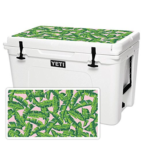 MightySkins (Cooler Not Included) Skin Compatible with YETI Tundra 105 qt Cooler Lid - Jungle Glam | Protective, Durable, and Unique Vinyl Decal wrap Cover | Easy to Apply | Made in The USA