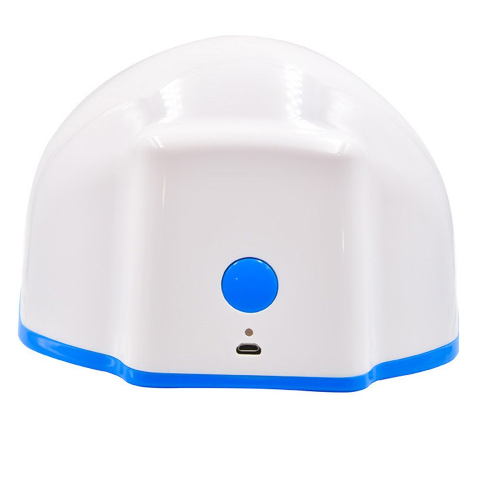 Funwill Therapy Light Thinning Thicker Hair Growth Machine Helmet Device Treatment Prevents Further Loss Promote Regrowth Cap Massage Equipment Men and Women Grows Regrowth Short-time Treatment System