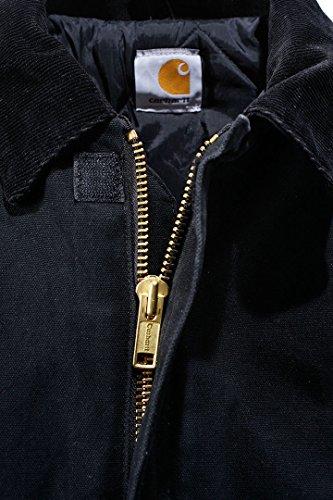 D'hiver Ej022 Vestes Canard Veste Carhartt Traditionnelles Chaude Noir xYntOwBRZ