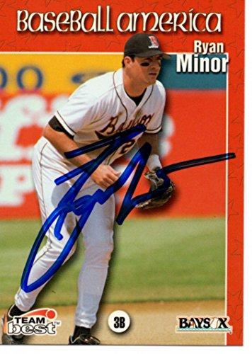 Ryan Minor Bowie Baysox 1999 Team Best Signed Card