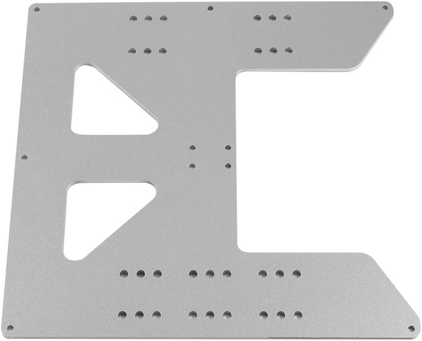 Aibecy 3D Printer Accessories Hot Bed Base Plate Anodized Aluminum Plate for PRUSA I3 for Anet A8 3D Printer Upgrade Suppliers