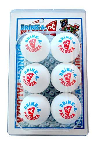 DRINK-A-PALOOZA Beer Pong Ball Sets Pong Tables Ping-Pong Balls Drinking Games]()