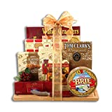 Meat and Cheese Cutting Board Gourmet Gift Basket