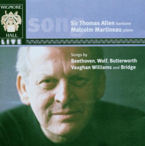 Songs by Beethoven, Wolf, Butterworth & Vaughan-Williams by WIGMORE HALL LIVE