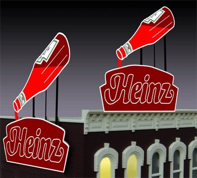 1081 Large Model Heinz Animated Lighted Billboardby Miller Signs by Miller Engineering (Image #2)