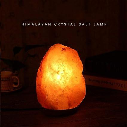 FZYUAN Lámpara De Sal del Himalaya Lámpara De Sal Regulable ...