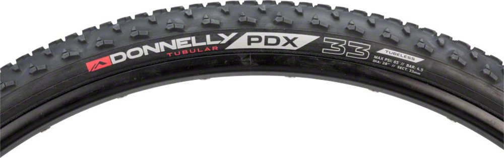Donnelly PDX Tubular Tire, 700x33 Black