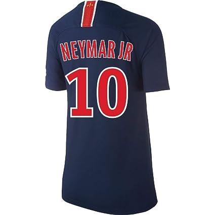 757cfe6f616 Amazon.com   PSG Home Kids Neymar Jr 10 Jersey 2018 2019 (Fan Style ...