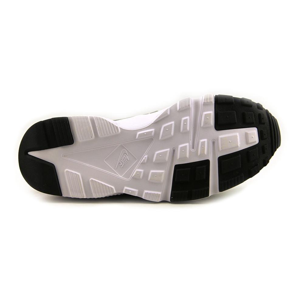 NIKE Huarache Run GS Black//Wolf Grey-Dark Grey-White