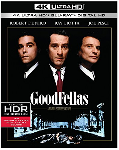 4K Blu-ray : Goodfellas (4K Mastering, Ultraviolet Digital Copy, 2 Pack, 2 Disc)