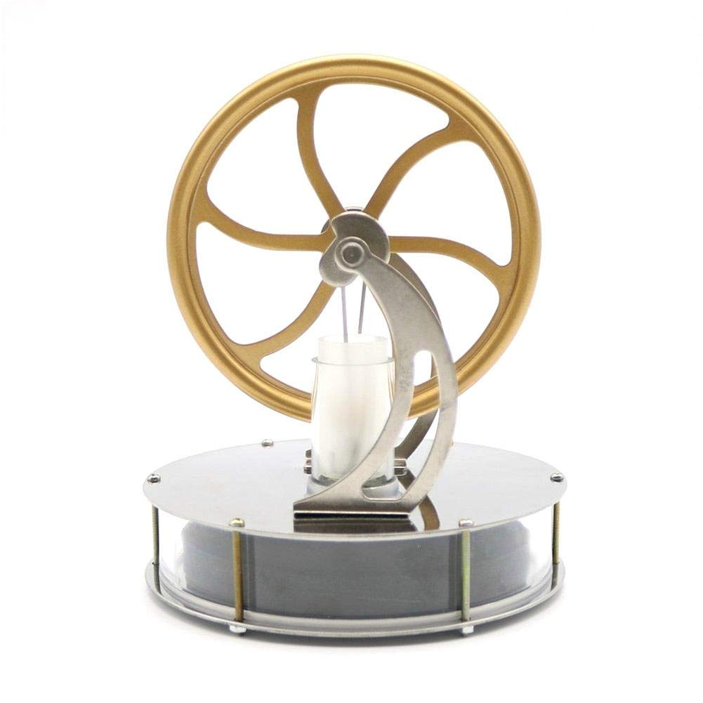 KiGoing Low Temperature Stirling Engine Motor Steam Heat Education Model Toy Kits