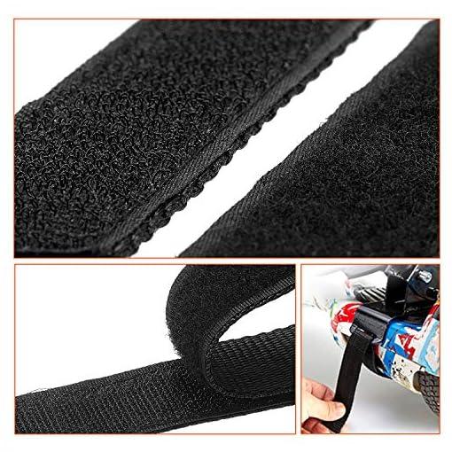 Lot de 8 sangles réglables pour hoverboard avec crochet et boucle de fixation pour hoverboard et hoverboard – Pour kart – Accessoires auto-équilibrage – Scooter