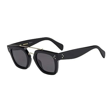 637daef3576 Celine CL41077-S-807-BN-47 CL 41077-S 807 BN Black Sunglasses  Celine   Amazon.co.uk  Clothing