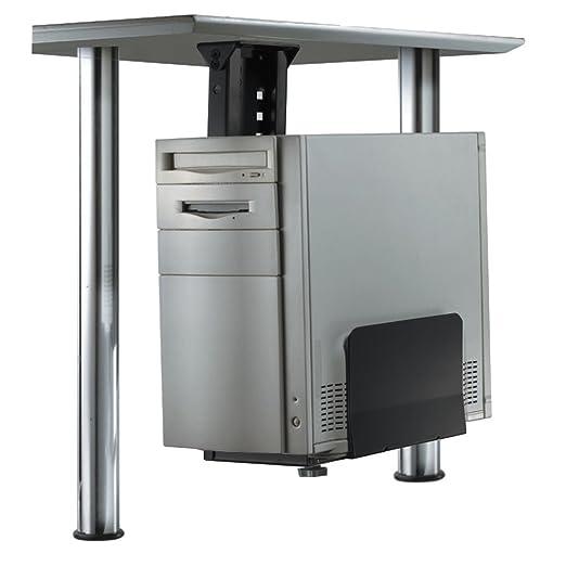 3 opinioni per Newstar PC desk mount- CPU holders (Desk-mounted CPU holder, 30 kg, Black, 130-