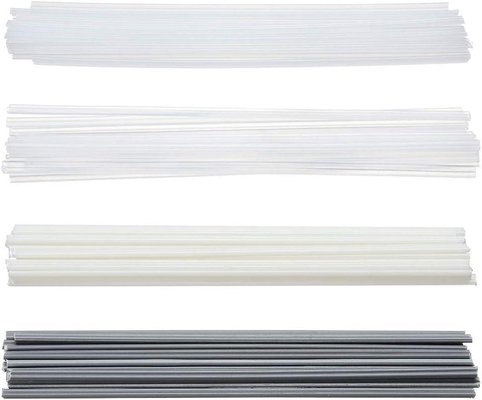80PCS plastica Saldatura Rohi PP//PE//PVC//ABS Elettrodo Saldatore Saldatore aste for Pistola//Pistola ad Aria Calda Taglia : Each 5pcs without brand Nj-weiding 20//40