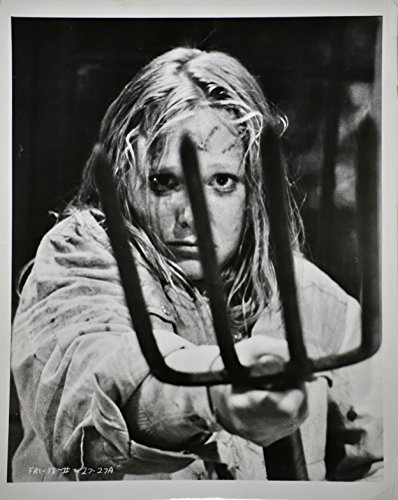 1981 - Friday the 13th Part II - 8x10 Black & White Photographs - Set of 17 Photos - Amy Steel / Adrienne King -