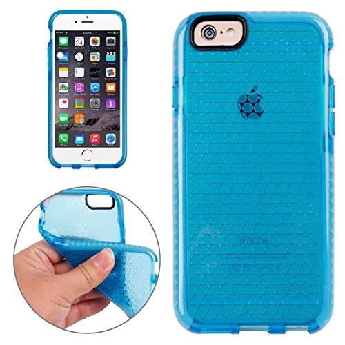 Phone Taschen & Schalen Für iPhone 6 Plus & 6s Plus Honeycomb Texture TPU Schutzhülle ( Color : Dark Blue )