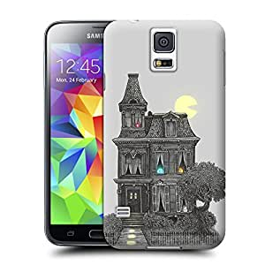 BY SHICASE Sketch Style Castle Painting Picture Of Tpu Attractive And Durable Cases For Samsung Galaxy s5