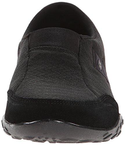 Skechers Breathe Easy Resolución Resbalón-en la zapatilla de deporte Black