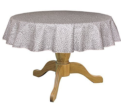 Amazing Stain Resistant Round 42 To 60u0026quot; Bistro Tablecloth Arles In Soft ...