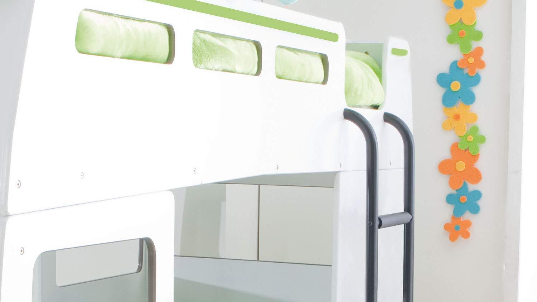 Etagenbett Bussy Aufbauanleitung : Möbel akut hochbett doppeldecker autobus kinder etagenbett bussy in