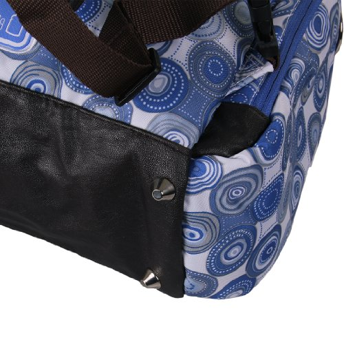 ecosusi diaper backpack diaper bags baby bags large capacity blue dot new ebay. Black Bedroom Furniture Sets. Home Design Ideas