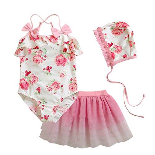 Toddler Girls Bathing Swimsuit Swimwear