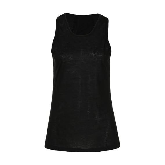 Sannysis Fitness Yoga Vests Sujetador Deportivo básicos Tallas Grandes Sujetadores Deportivos Mujer Running Ropa Interior Deportiva Camiseta termica Mujer ...