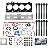 "04-08 FITS CHRYSLER/DODGE 2.4L (2429cc/148cid), DOHC L4 16V, EDZ VIN CODE""X"" Brand New MLS Head Gasket Head bolts Set w/RTV Silicone"