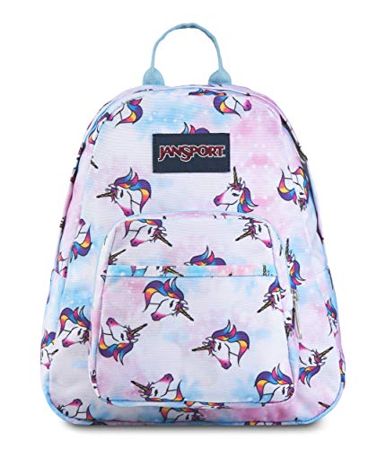JanSport Half Pint Backpack Unicorn Clouds