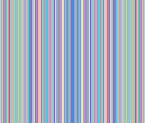 Highway Stripe (Stripes Fabric Highway Stripes In Rainbow by Anniedeb Printed on Cotton Spandex Jersey Fabric by the Yard by Spoonflower)