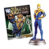 DC SUPERHERO CHESS FIGURINE COLLECTION MAGAZINE #61 BOOSTER GOLD - WHITE PAWN