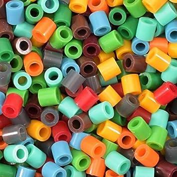 Decoraciones Hechas en Casa y Otras Ideas de Manualidades 5 mm Creaci/ón de Joyas B/ásicos Brillantes Set de 6000 Piezas DIY para Ni/ños Vaessen Creative Perlas Fusibles Mezcla de Colores