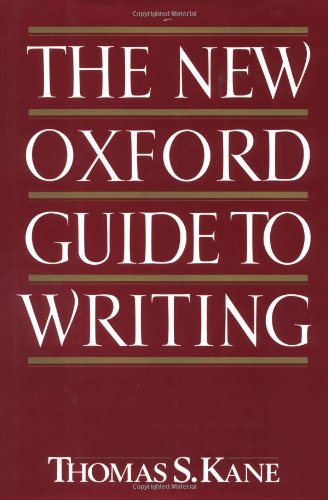 Search : The New Oxford Guide to Writing
