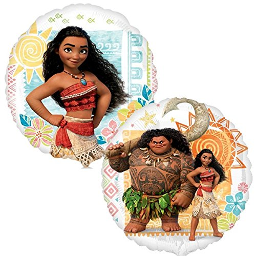Moana Balloon Bouquet Favor Cup Centerpieces Set of 2