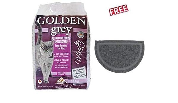 Golden Grey Master - Arena para Gatos (14 kg, Muy Fina, con ...